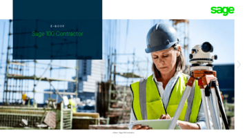 sage 100 contractor brochure thumbnail
