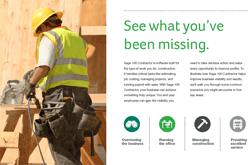 A team implementing Sage 100 construction software